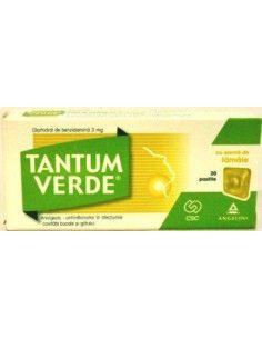 Tantum Verde Lemon 3mg x 20 comprimate