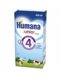 Humana 4 Junior Drink, 450ml