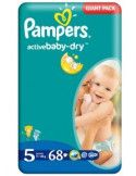 Pampers Giant 4 Maxi 7-14 kg x 82 buc