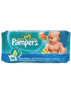 Pampers Servetele umede fresh x 64 buc
