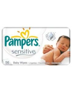 Pampers Servetele Sensitive x 56 buc