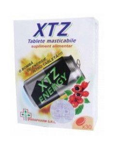 XTZ Energy - 30 tb masticabile energizante