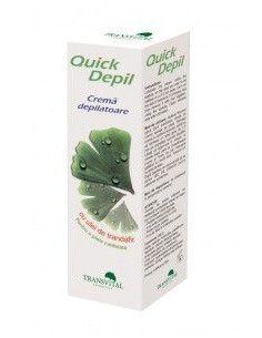 Quick Depil - ceara depilatoare cu ulei de trandafir 125 ml