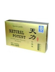 Natural Potent 6 fiole x 10 ml