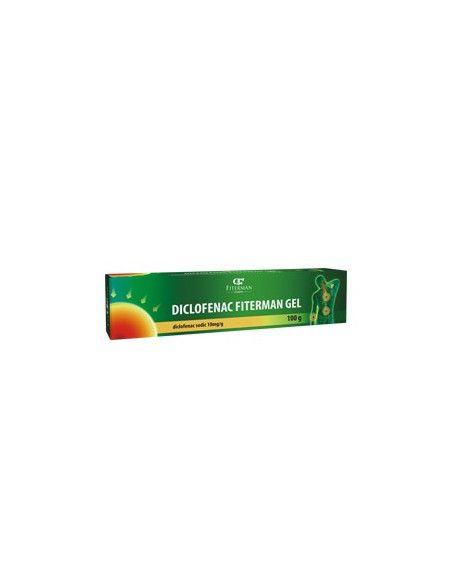 Diclofenac MK gel 1%, 100g, Fiterman