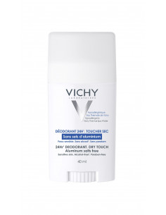 Vichy Stick Antiperspirant Dry Touch, Eficacitate 24h (fara saruri de aluminiu) 40ml