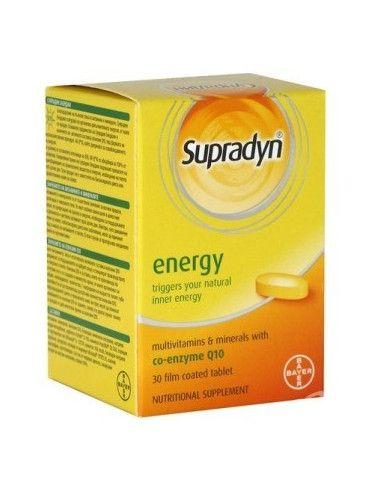 Supradyn Q10 Energy x 30 comprimate