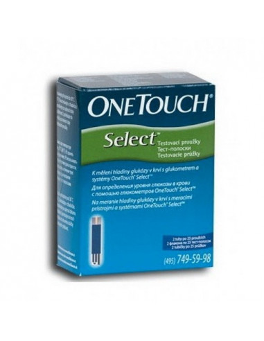 Teste glicemie OneTouch Select x 50 buc
