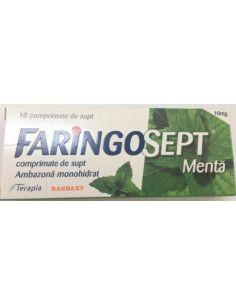 Faringosept (aroma menta) x 10 cpr