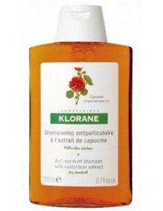 Klorane Sampon cu extract de Capucine pentru matreata uscata 200ml