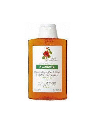 Klorane Sampon cu extract de Capucine pentru matreata uscata x 200ml