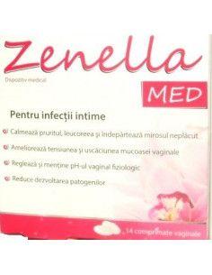 Zdrovit Zenella Med x 14 cpr vaginale