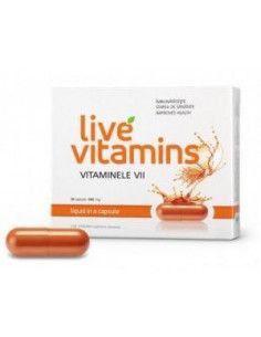 Live Vitamins (vitaminele vii) x 30cps