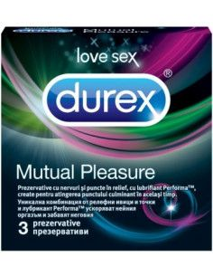 Durex Mutual Pleasure x 3 prezervative