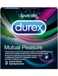 Durex Mutual Pleasure x 3 prezervative