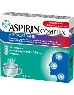 Aspirin Complex Hot Drink granule x 10 plicuri