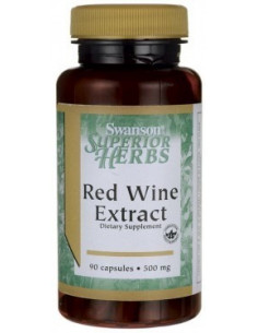 Red Wine Extract 500mg x 90 capsule