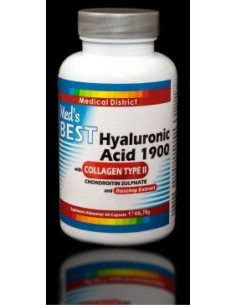 Best Hyaluronic Acid 1900 with Collagen Type II x 60 capsule