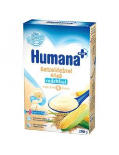 Humana Cereale din Gris fara Lapte, 200g