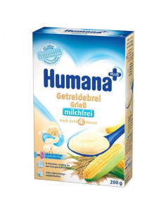 Humana Cereale din Gris fara Lapte x 200g