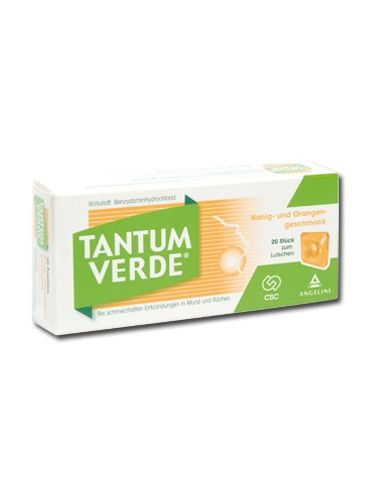 Tantum Verde 3mg x 20 cpr. aroma portocale si miere