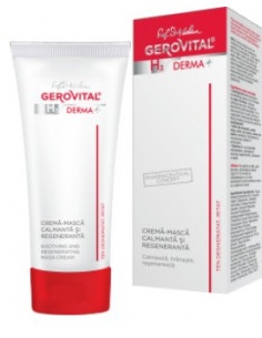 Gerovital H3 Derma+ Crema masca calmanta si regeneratoare