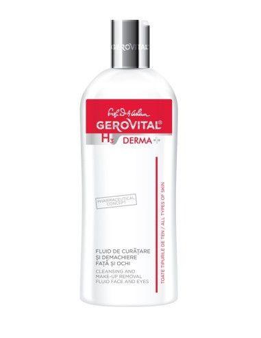 Gerovital H3 Derma+ Fluid de curatare si demachiere ochi