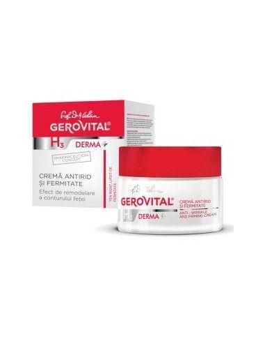 Gerovital H3 Derma+ Crema antirid si fermitate