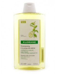 Klorane Sampon cu extract de pulpa de citrice, 400ml