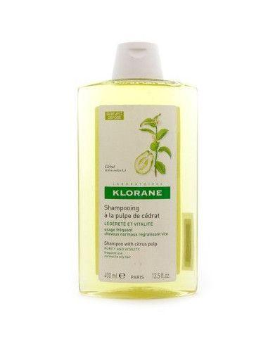 Klorane Şampon cu extract de pulpă de citrice x 400ml