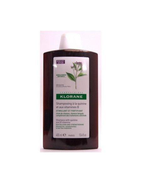 Klorane Sampon cu extract de Chinina si cu Vitamina B 400ml