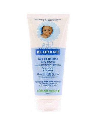 Klorane Lapte de toaletă fara clatire 200ml