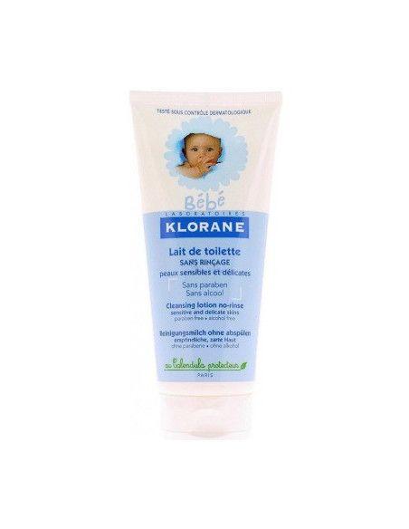 Klorane Bebe Lapte de toaletă fara clatire 200ml