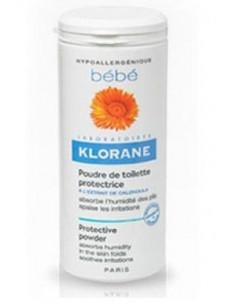 Klorane Bebe Pudra Toaleta Protectoare 100g