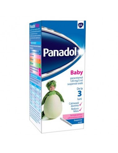 Panadol Baby 120mg/5ml x 100ml
