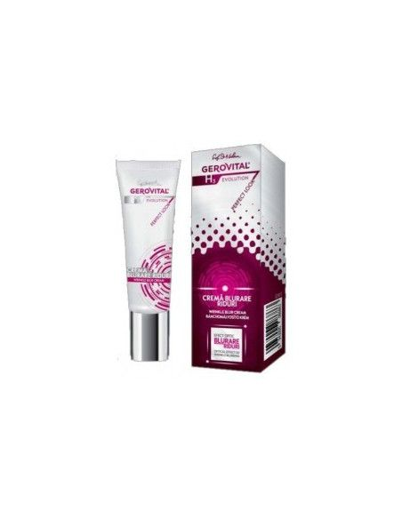 Gerovital H3 Evolution Perfect Look Crema blurare riduri 25ml