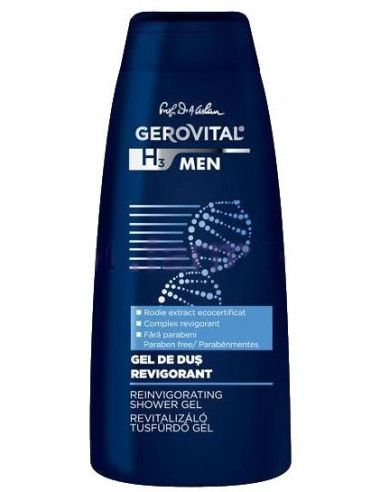Gerovital H3 Men Gel de duş Revigorant x 400ml