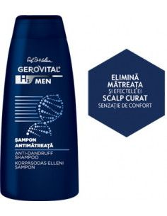 Gerovital H3 Men Şampon Antimătreaţă x 250ml