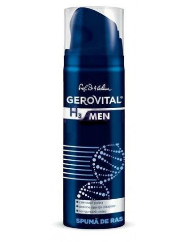Gerovital H3 Men Spumă de ras x 200ml