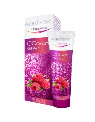 Gerovital Happiness Crema CC deschis 50ml