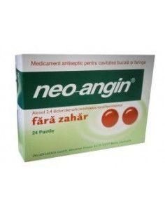 Neo-Angin fara zahar x 24 comprimate