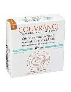 Avene Couvrance Fond de ten Compact SPF30 ten normal-mixt, nuanta 03 Beige x 10g