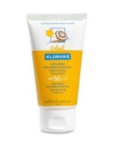 Klorane Lotiune protectie solara SPF 50+ cu extract de galbenele, 75ml