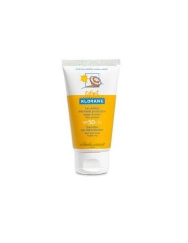 Klorane Lotiune protectie solara SPF 50+ cu extract de galbenele 75ml