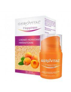 Gerovital Happiness Crema hidratanta hranitoare 30ml