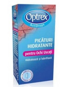 Optrex picaturi hidratante pentru ochi uscati 10ml