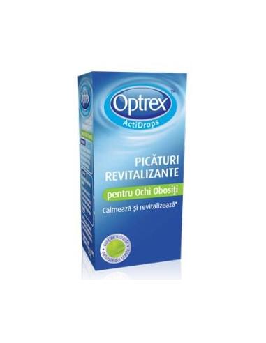 Optrex picaturi revitalizante pentru ochi obositi 10ml