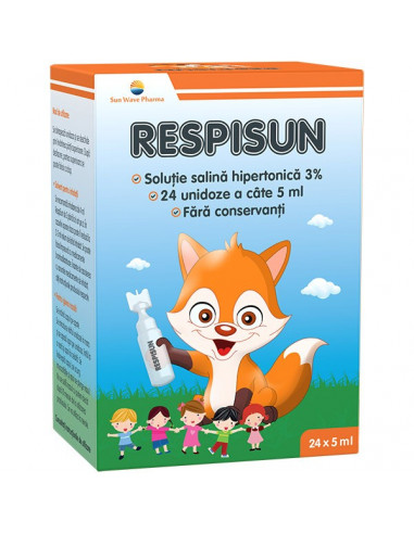 Respisun solutie salina hipertonica 3% -  24 doze