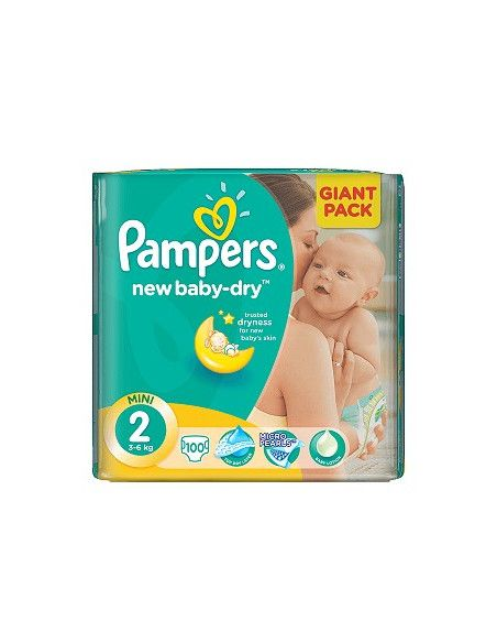 Pampers Active Baby Giant 2 Mini 3-6 kg x 100 buc