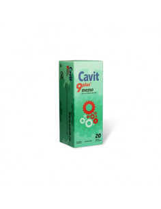 Cavit 9 Plus Memo x 20 tablete masticabile